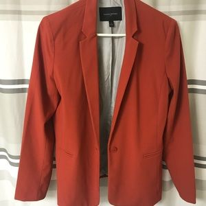 Burnt Orange Banana Republic Blazer
